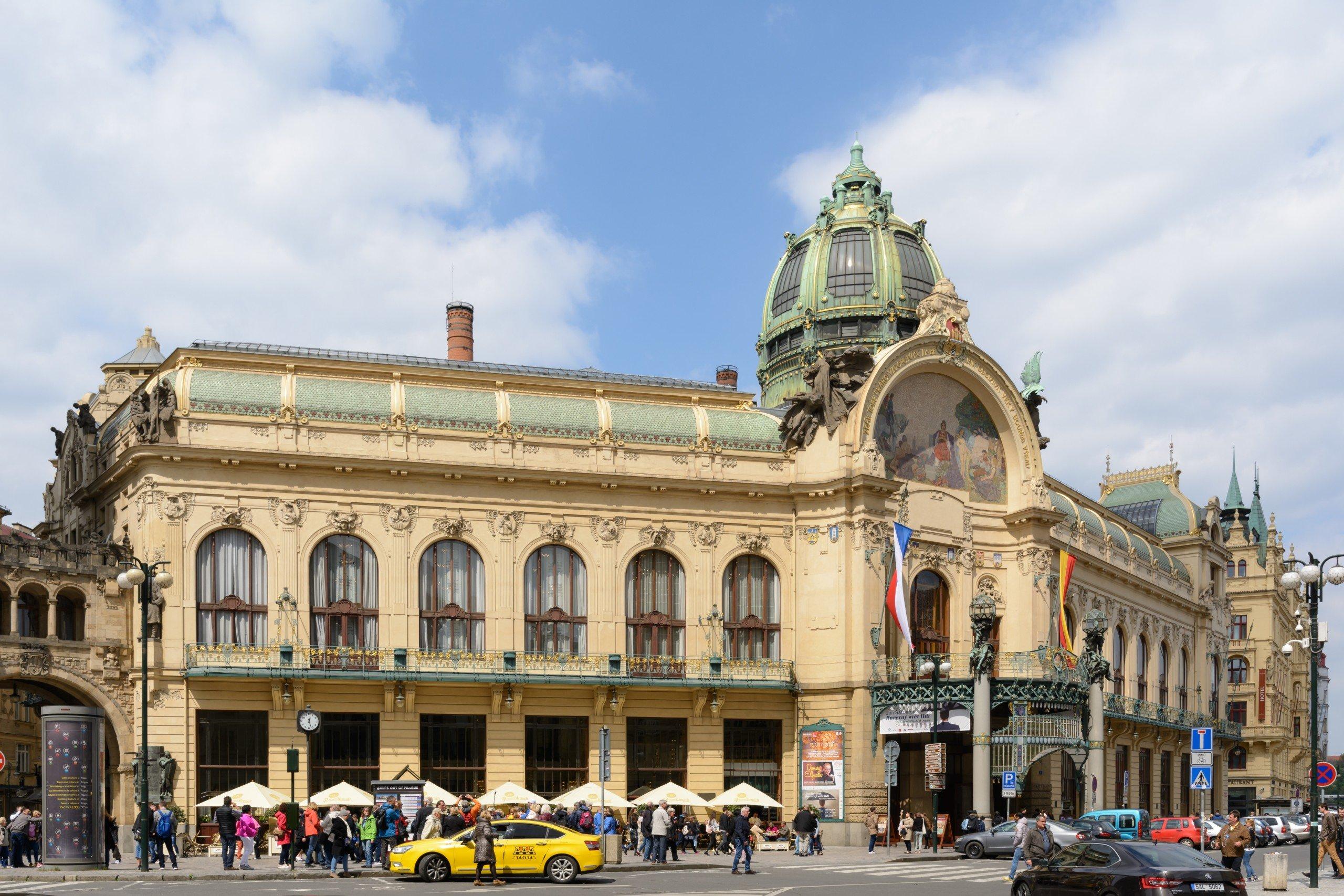 Exterior of Prague Municipal House
