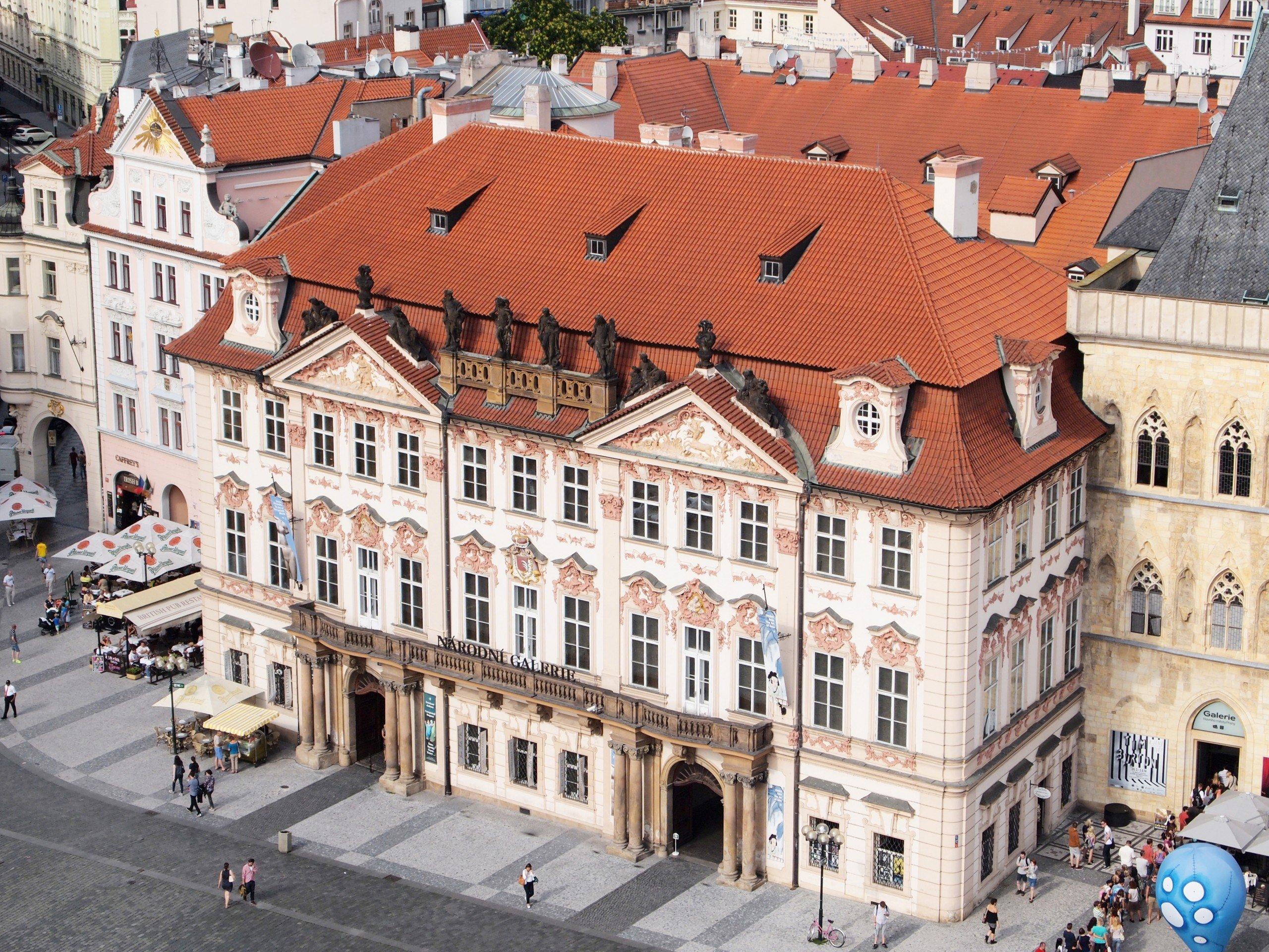 National Gallery Prague Kinsky Palace